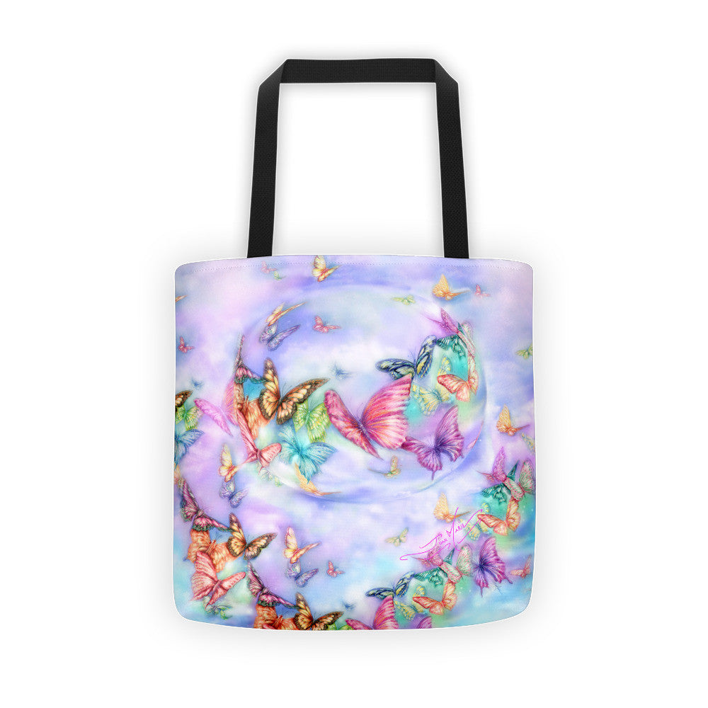 Butterfly Mist Tote bag