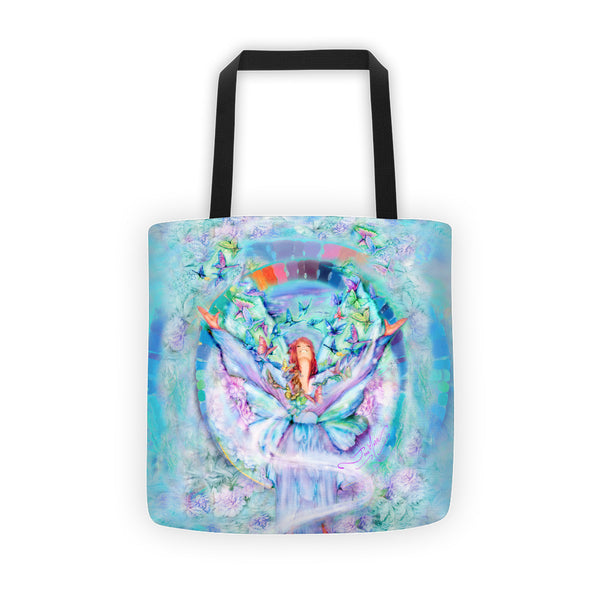 Thankful Rainbow Tote bag