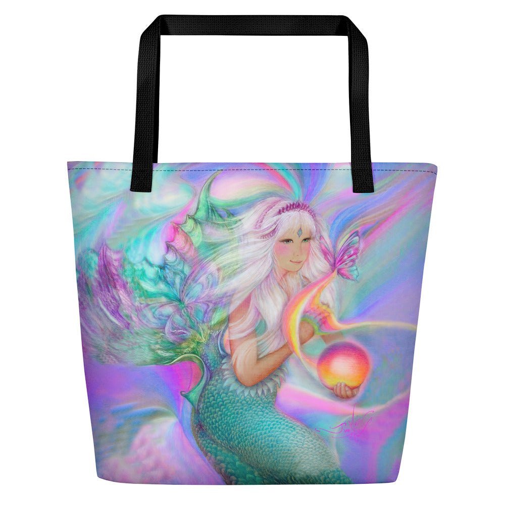 Mermaid's Magic Glow, Beach Bag