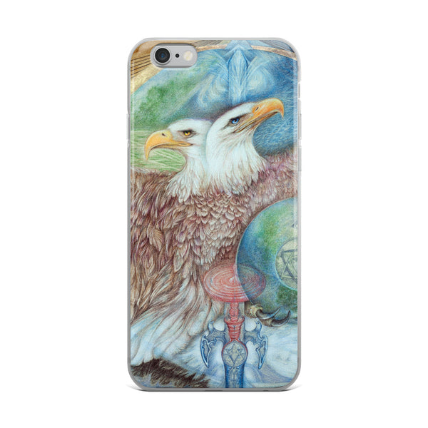 Double Headed Eagle, iPhone Case