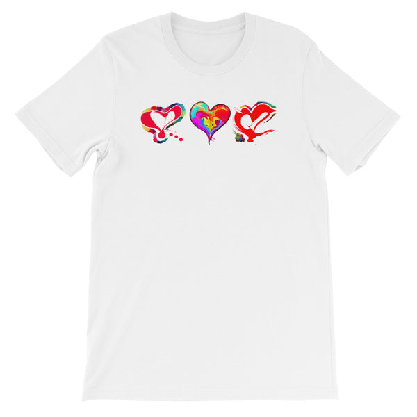 3 Hearts of Love...Short-Sleeve T-Shirt