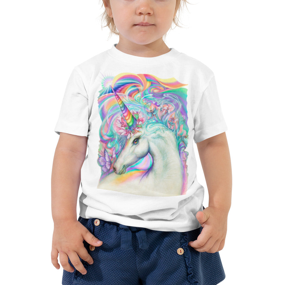 Magical Unicorn Fairy Parade, Toddler Short Sleeve Tee
