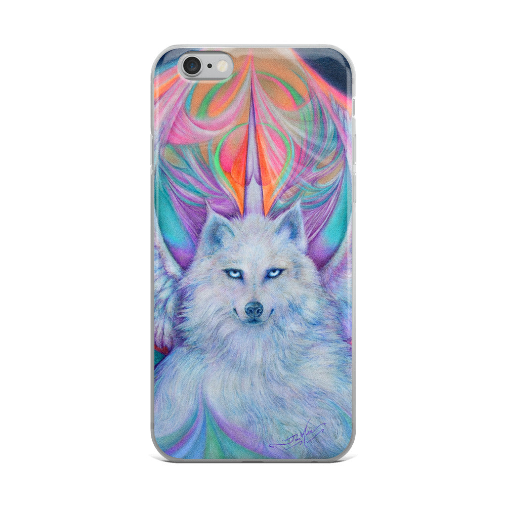 a...White Spirit....iPhone Case