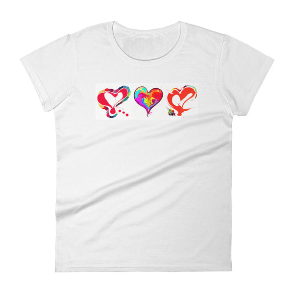 Heart World, Women's short sleeve t-shirt