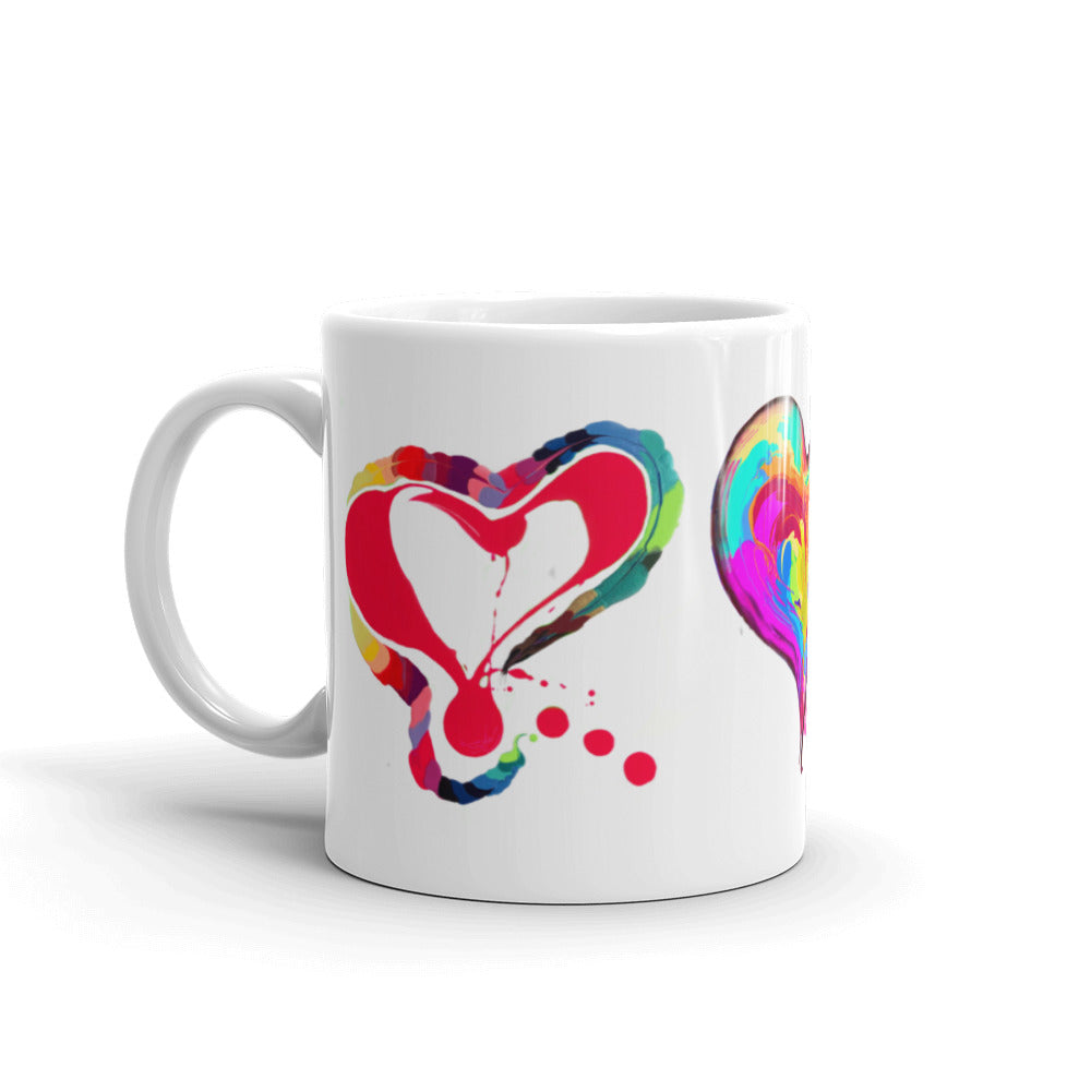 3 Hearts of LOVE!!! Mug