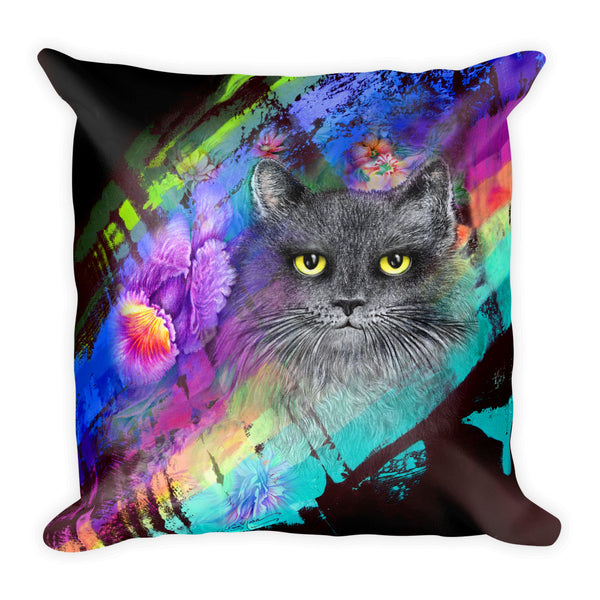 Kitties Square Pillow