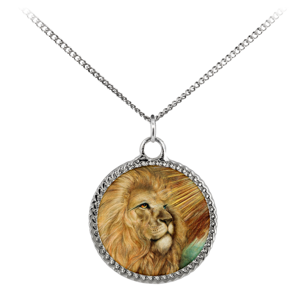 Lion Wisdom, necklace
