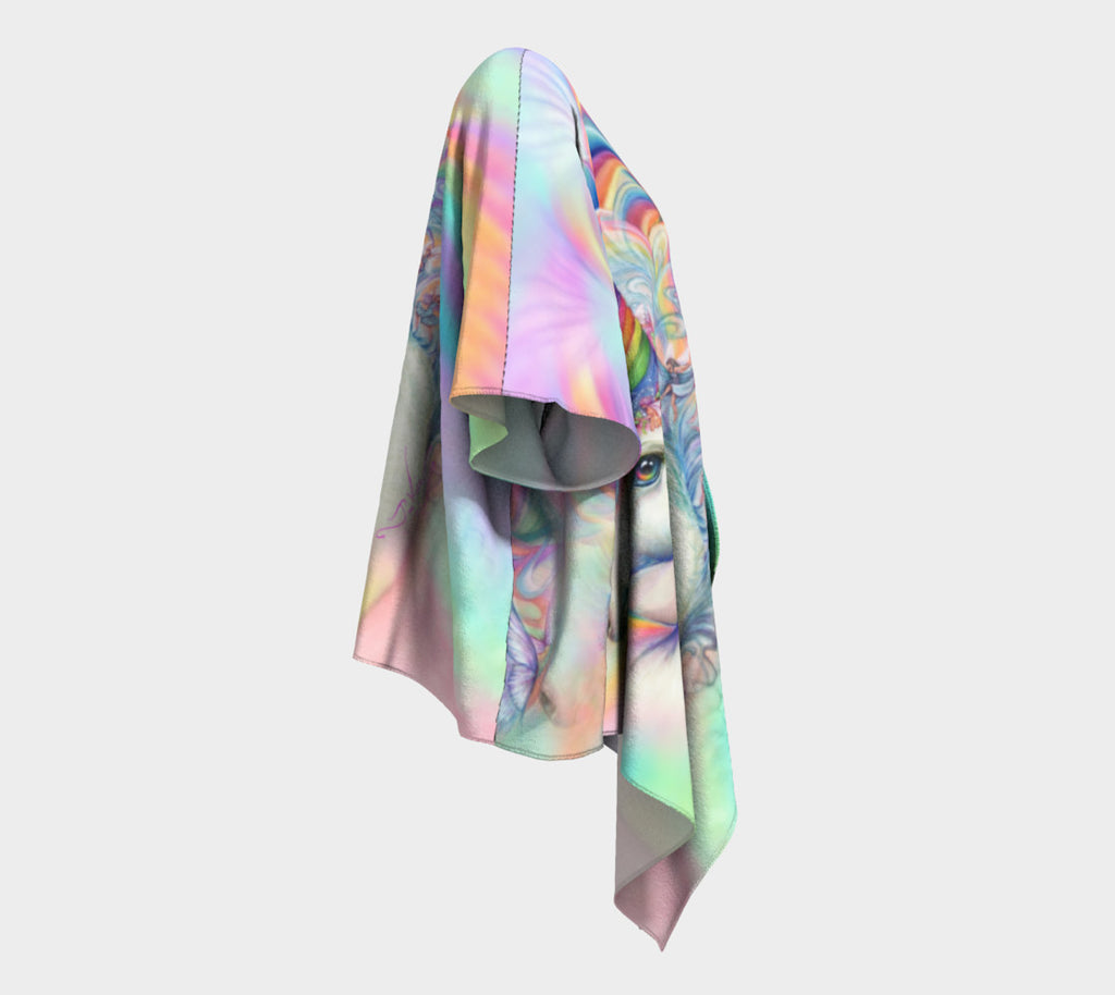 Unicorn Fairy Magic, Draped Kimono