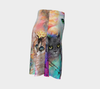 Crazy Cat Lady Flare Skirt