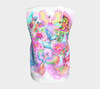 q Birdies in Paradise,  Sleeveless Shirt, LONG length (Regular length also available)