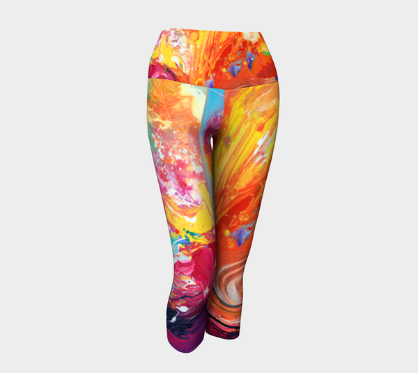 Morning has Broken Yoga Capris