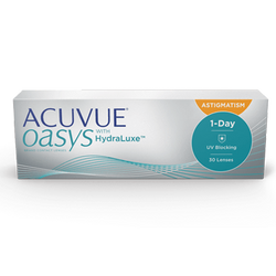 Acuvue Oasys 1-DAY Astigmatism with HydraLuxe