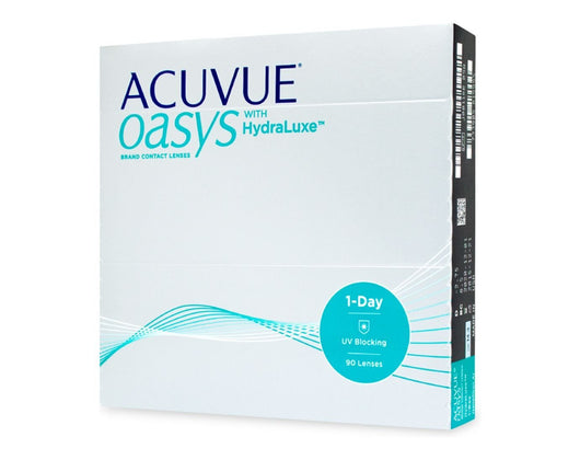 Acuvue Oasys 1-DAY with HydraLuxe (90 lenses)
