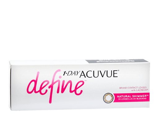 Added 1 Day Acuvue Define Shimmer