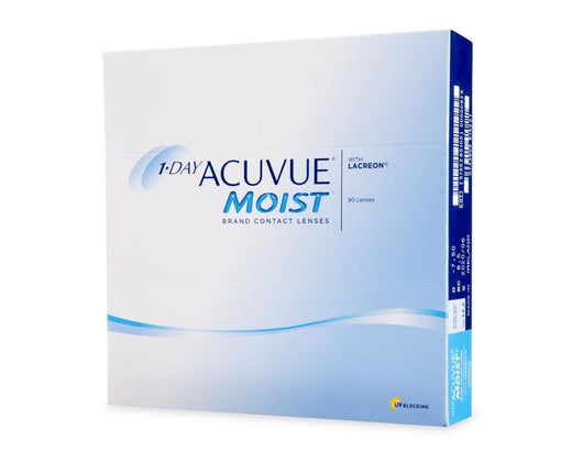 Added 1 Day Acuvue Moist (90 lenses)