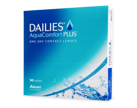 Added Dailies AquaComfort Plus (90 lenses)