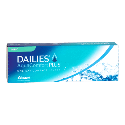 Added Dailies AquaComfort Plus Toric