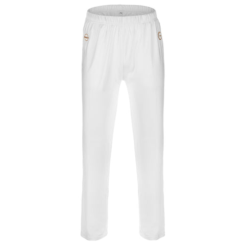 Aloha UV Men's & Women's UPF 50+ Sun Protection and Performance Pants, White, L