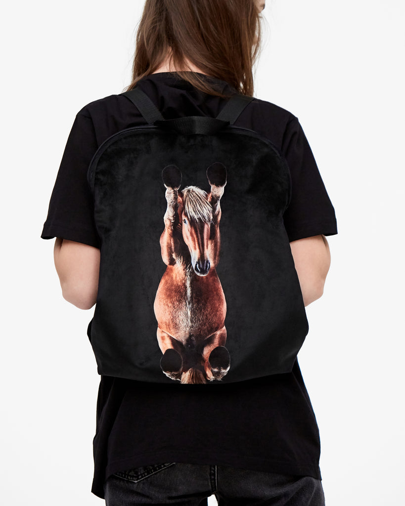 "Backpack ""Brown Horse"""