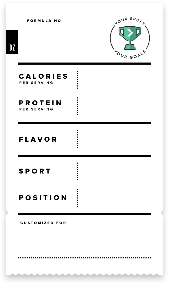 Nourish Athlete Label