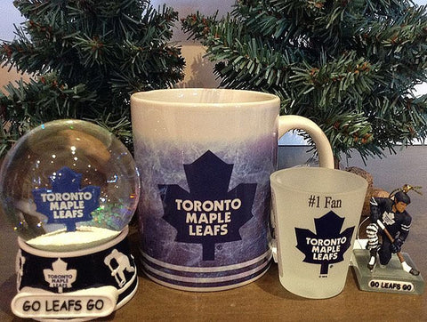 GoLeafsGo Shotglasses mugs and snowglobes
