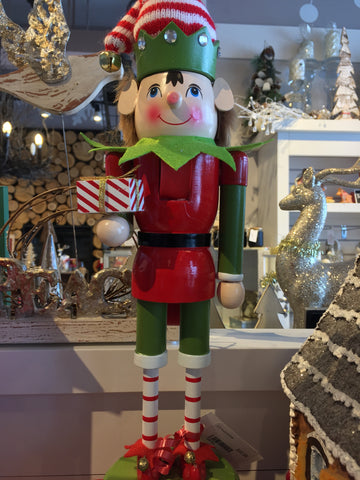 Christmas Elf Nutcracker