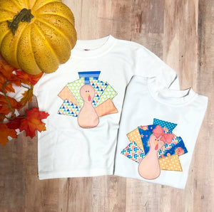 Personalized Turkey Outfit