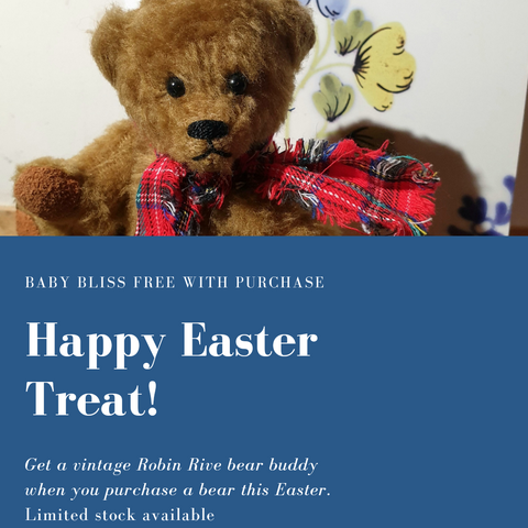 Special Robin Rive Baby Bliss Bear Giveaway for Easter