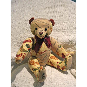 Cockadoodle- Year of the Rooster - KiwiCurio-Robin Rive-Teddy Bears-Limited Edition