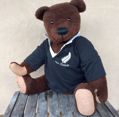 Rugby Supporter No 11 - KiwiCurio-Robin Rive-Teddy Bears-Limited Edition