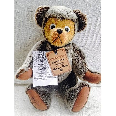 Roosevelts Cub - KiwiCurio-Robin Rive-Teddy Bears-Limited Edition