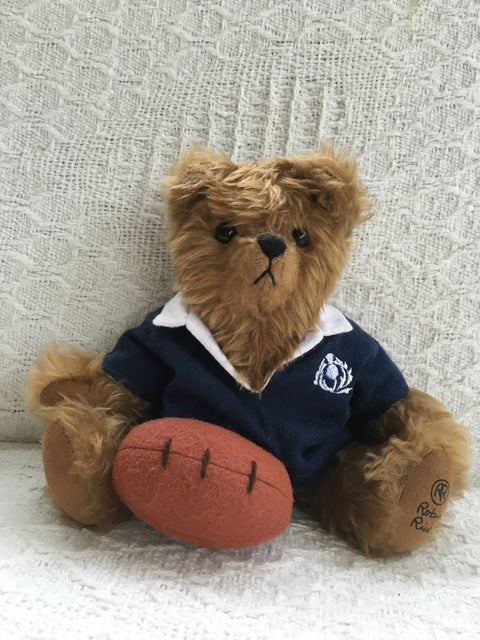 Rugger Scotland - KiwiCurio-Robin Rive-Teddy Bears-Limited Edition