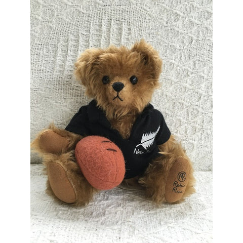 Rugger New Zealand - KiwiCurio-Robin Rive-Teddy Bears-Limited Edition