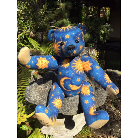 Blue Moon - KiwiCurio-Robin Rive-Teddy Bears-Limited Edition