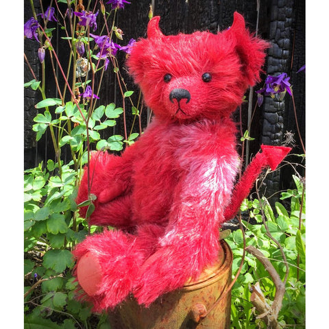 Diablo - KiwiCurio-Robin Rive-Teddy Bears-Limited Edition