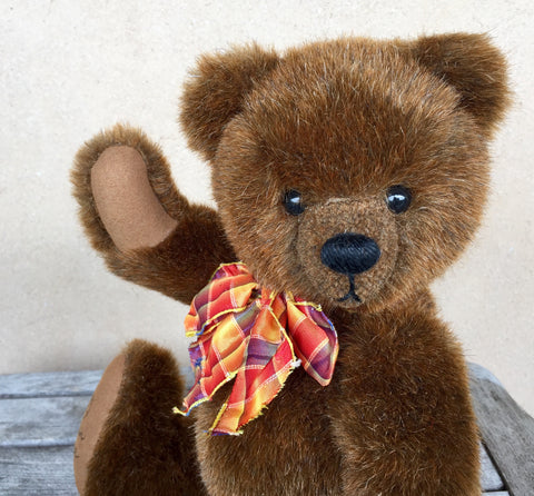 Baby face - KiwiCurio-Robin Rive-Teddy Bears-Limited Edition