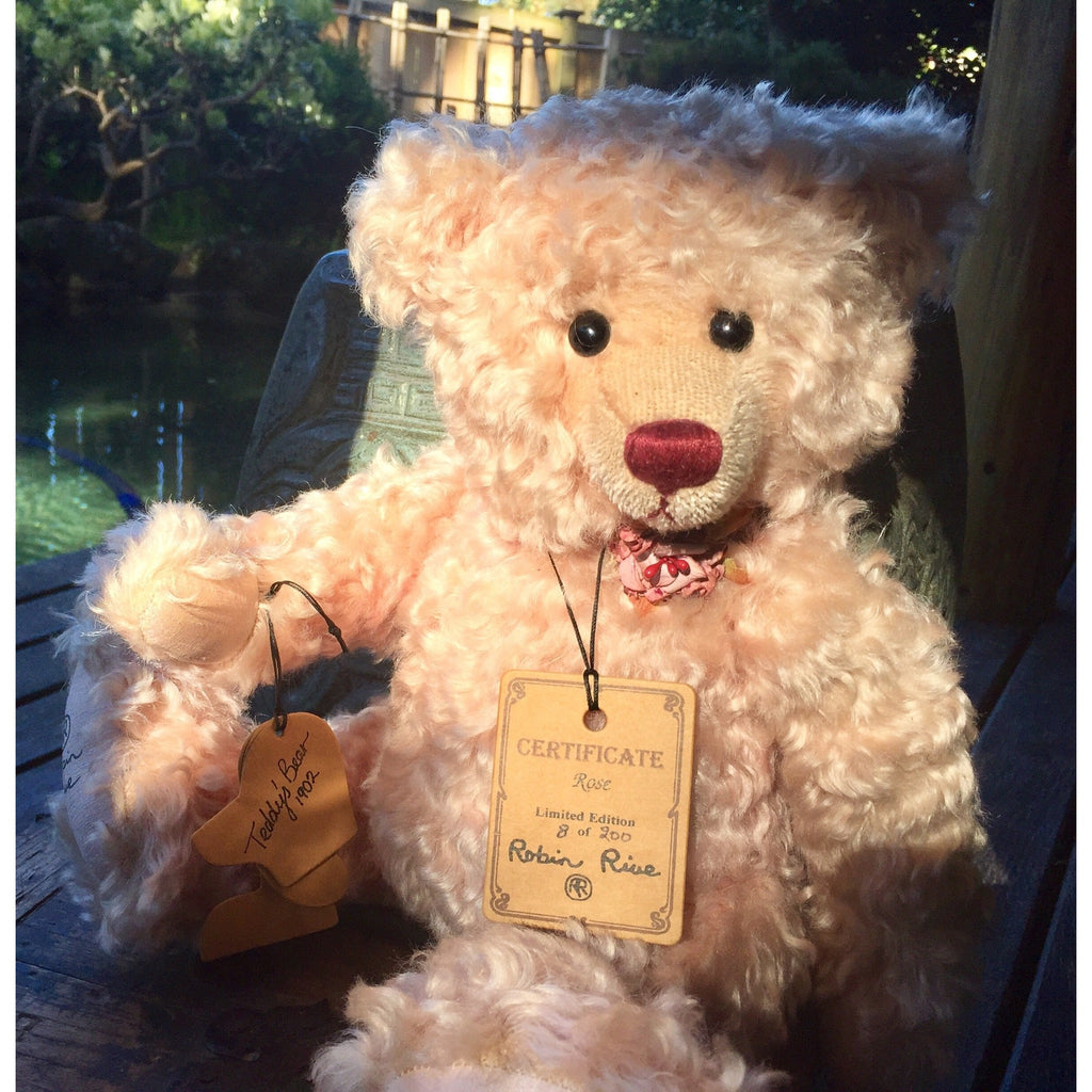 Rose - KiwiCurio-Robin Rive-Teddy Bears-Limited Edition