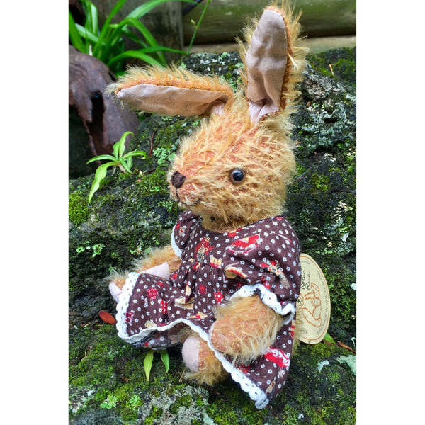 Bunny Brown - KiwiCurio-Robin Rive-Teddy Bears-Limited Edition
