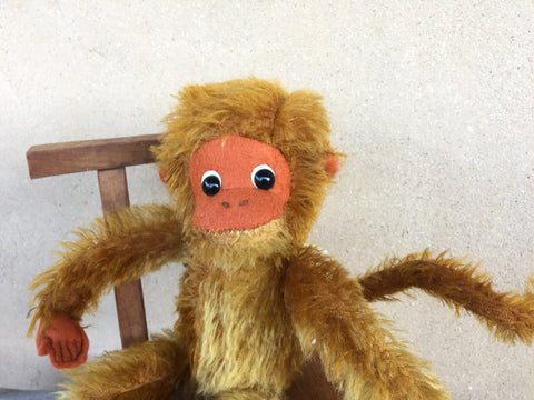 Ginger Ninja Monkey - KiwiCurio-Robin Rive-Teddy Bears-Limited Edition