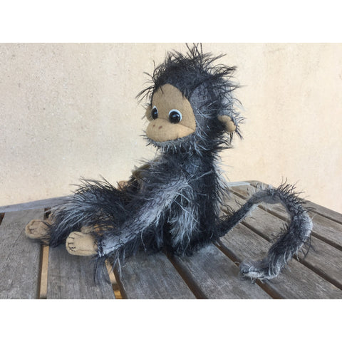 Funny Monkey - KiwiCurio-Robin Rive-Teddy Bears-Limited Edition