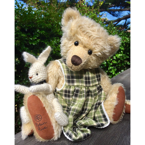 Rachel And her Rabbit - KiwiCurio-Robin Rive-Teddy Bears-Limited Edition