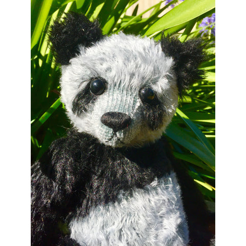 Pandy Blue - KiwiCurio-Robin Rive-Teddy Bears-Limited Edition