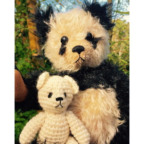 Pandy n Petey - KiwiCurio-Robin Rive-Teddy Bears-Limited Edition