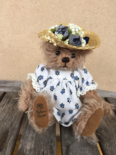 Miss Rebecca - KiwiCurio-Robin Rive-Teddy Bears-Limited Edition