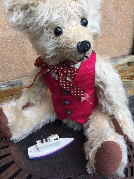 Frankie - KiwiCurio-Robin Rive-Teddy Bears-Limited Edition
