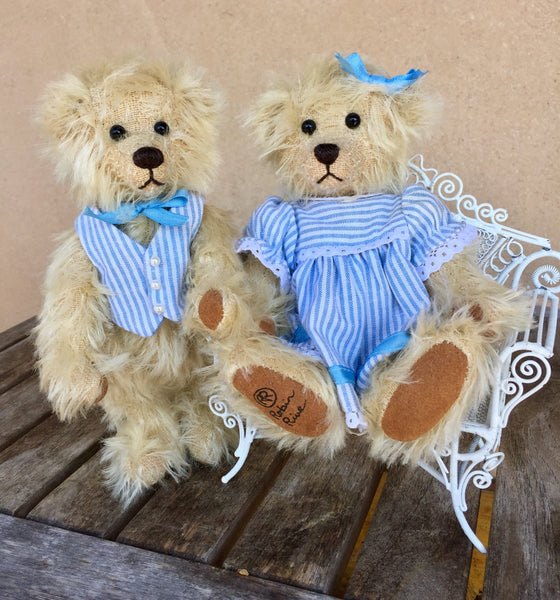 Jill - KiwiCurio-Robin Rive-Teddy Bears-Limited Edition