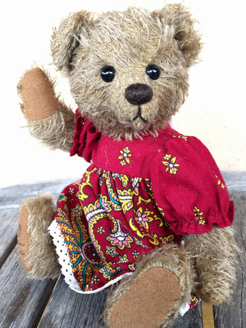 Ali Robin Rive Bear - KiwiCurio-Robin Rive-Teddy Bears-Limited Edition