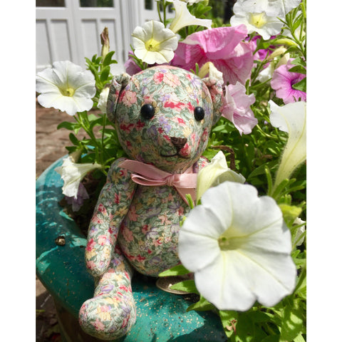 Petunia Bear - KiwiCurio-Robin Rive-Teddy Bears-Limited Edition