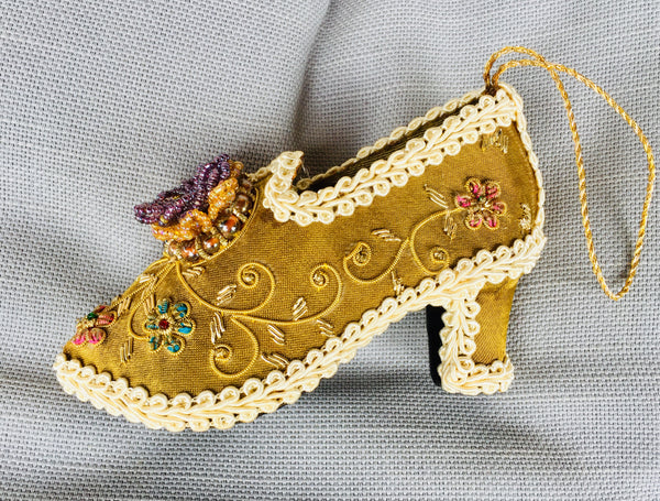 Venetian shoe decoration - KiwiCurio-Robin Rive-Teddy Bears-Limited Edition