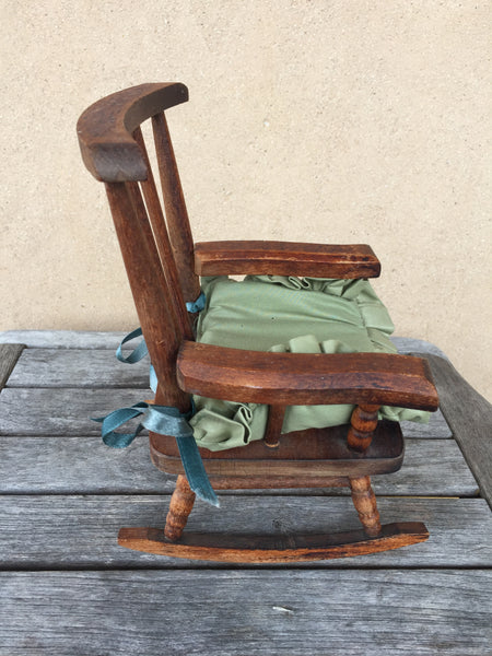 Wooden Rocking Chair - KiwiCurio-Robin Rive-Teddy Bears-Limited Edition